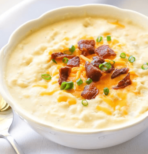 Creamy Potato Bacon Soup