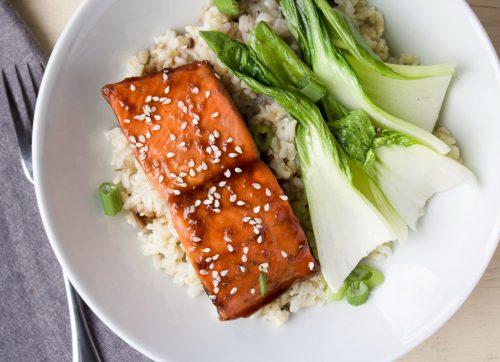 Miso Sesame Salmon