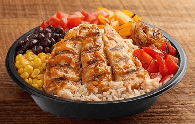 Piri Piri Grilled Chicken & Brown Rice Bowl
