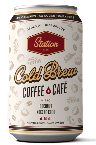 Station Cold Brew – Coconut