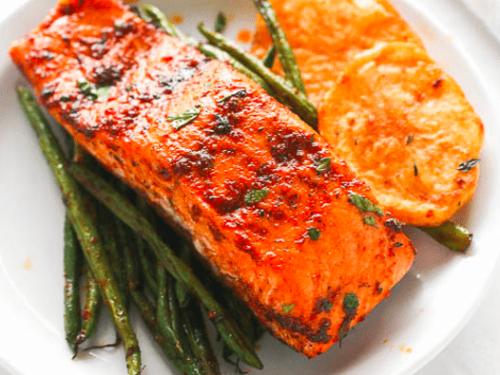 Paprika Baked Salmon